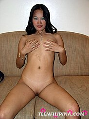 Naked Filipina Shaved Pussy