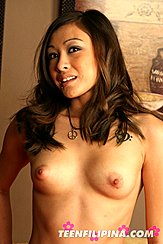 Head Thrown Back Long Auburn Hair Sweet Puffy Nipples