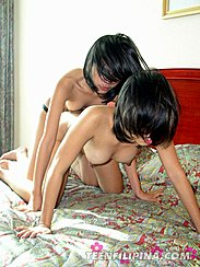 Doggy Style Filipina Lesbians Strapon Sex Thick Nipples