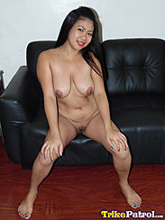 Sitting On Couch Naked Bare Feet