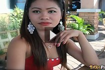 Pretty Filipina Corina picked up in trike and fucked